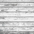 Old white painted wood wall - texture or background  — Stock Photo