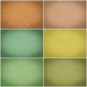 Set of different colorful wall collage — Stockfoto