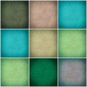 Set of different colorful wall collage — Stock Photo