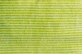 Green material background or texture — Stock Photo