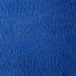 Stock Photo: Blue leather background or texture