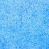 Blue stucco wall texture and background — Stock Photo