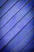 La struttura di legno blu con motivi naturali — Foto Stock