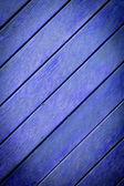 La texture du bois bleue avec des motifs naturels — Photo