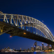 Sydney Harbour Bridge, Sydney, NSW, Australia — Stock Photo