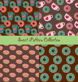 Modèle sweet collection — Vecteur