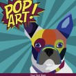 Pop art card — Vector de stock #25712645