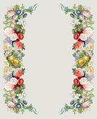 Roses Garland — Stock Photo