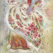 Foto Stock: Painting Collection: White shawl