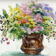 Stock Photo: Summer bouquet of flowers