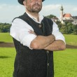Bavarian traditional man - Stock Photo