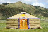 Mongolia yurt — Stock Photo