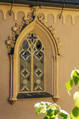 Windows of a Gothic church — Stock Photo