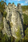 Scenery in Saxon Switzerland — Stock Photo