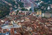 Blick auf die stadt brasov in rumänien — Stockfoto