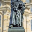 Martin luther Dresda — Foto Stock