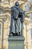 Martin luther drezno — Zdjęcie stockowe