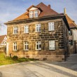 Typical historic franconia house — Stock Photo