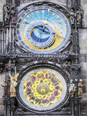Clock of cityhall Prague — 图库照片