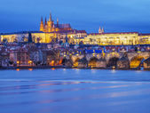 Spotlit Prague — Stock Photo