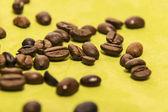 Closeup of coffee beans — Stock Photo