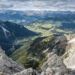 Wild landscape South Tyrol — Stock Photo