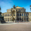 Opera house Dresden — Stock Photo