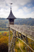 Elevator in Saxony Switzerland — Stock Photo