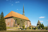 Church of Witzwort, Germany — Stock Photo
