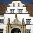 Detail of gatehouse in Husum — Stock Photo #24126883