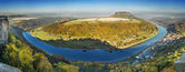 Panorama Saxony Switzerland — Stock Photo
