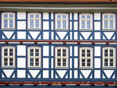 Facad half-timbered house in Duderstadt, Germany — Stock Photo