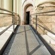 Stock Photo: Accessible path to church