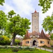 Castle gate rothenburg — Stock Photo #26013181