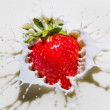 Strawberry splash — Stock Photo #26143871