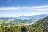 Views of the Allgäu region of Bavaria — Stock Photo