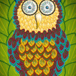 Illustration of an owl — Stock Photo