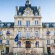 "Townhall ""Hotel de Ville"" Coutances Normandy — Stock Photo"