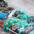 Stored fishing nets — Stock Photo #28072679