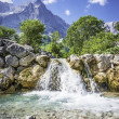Waterfall and rocks in the Austrian Alps — Stock Photo #29795703