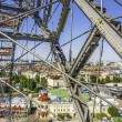 Ferris wheel at the Prater in Vienna — Stock Photo