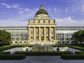 Bavarian State Chancellery in Otto park — Stock Photo