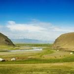 Mongolian steppe — Stock Photo #31227771