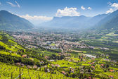 View to Merano South Tirol — Stock Photo