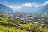 View to Merano South Tirol — Stock Photo