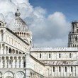 Cathedral Santa Maria Assunta and Leaning Tower of Pisa — Stock Photo #32546161