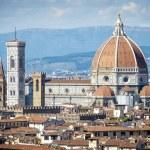 Cathedral Santa Maria del Fiore in Florence — Stock Photo