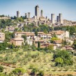 View to San Gimignano — Stock Photo