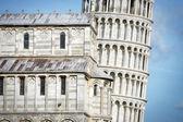 Torre inclinada closeup — Foto de Stock