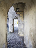 Medival archway — Stock Photo